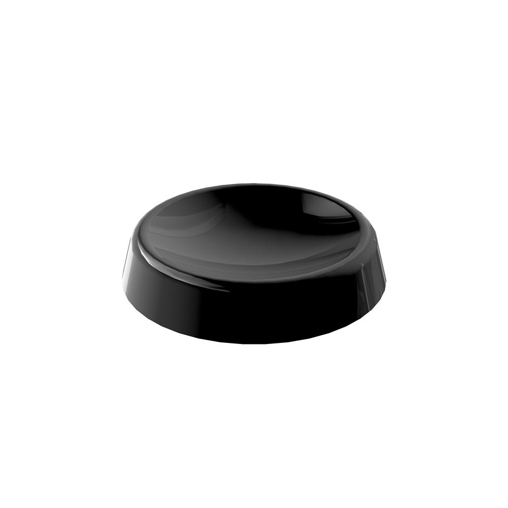 Black Plastic Head Support