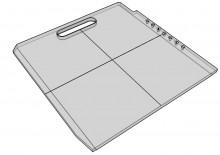 187 Solid Elekta Beam Block Tray