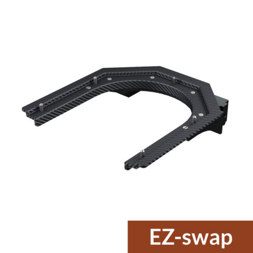 sub cranial head support with ez-swap