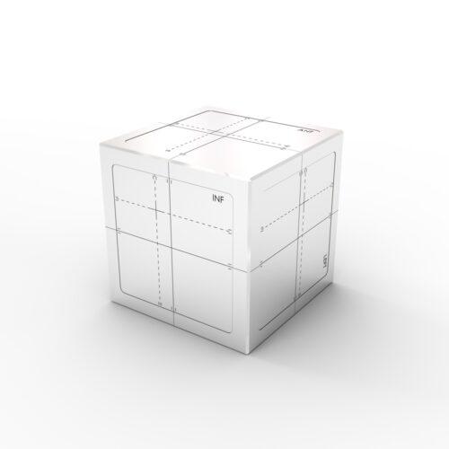 IGRT Cube Phantom - Side View 2