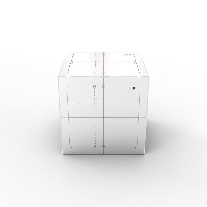 IGRT Cube Phantom - Front View